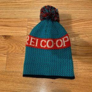 REI winter hat